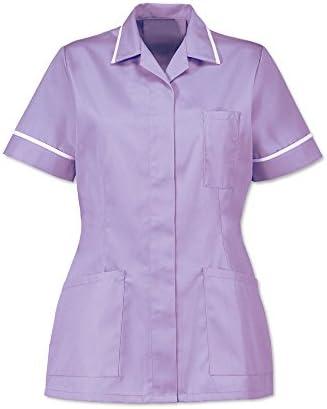 Nurses Tunic Healthcare Vet Dentist Carer Alexandra Work Wear ED235 Lilac HP298