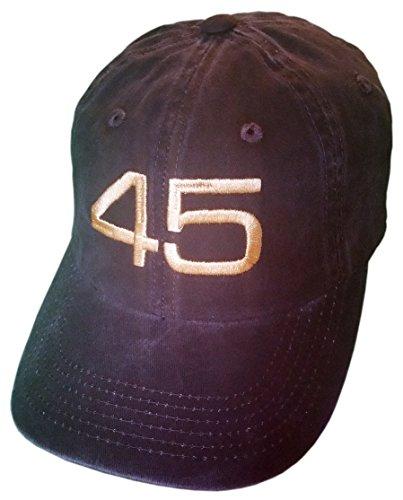 Treefrogg Apparel 45 Trump Hat/Cap – Black Structured Mesh Back, Unstructured, CAMO