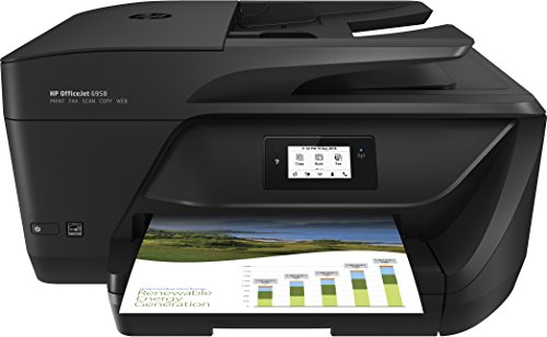 HP Officejet Pro 6958 All-in-One Color Inkjet Printer (Hp Color Multifunction Officejet 6962 Printer Review)