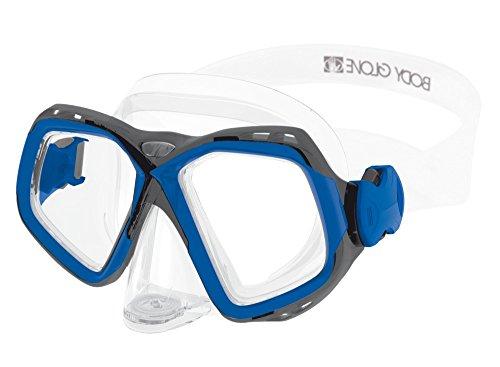 Body Glove Fiji Adult Dive Mask, Blue/Gray, Medium ()