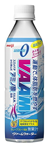 Meiji VAAM VAAM water grapefruit 500ml PET bottle X24 pieces 2 case by VAAM Water