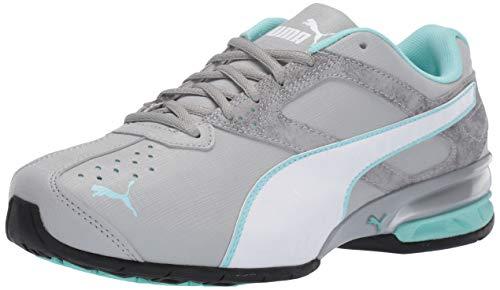 PUMA Women's Tazon 6 Sneaker Quarry White-ar, 10 W - Shoes Womens Size Puma 10