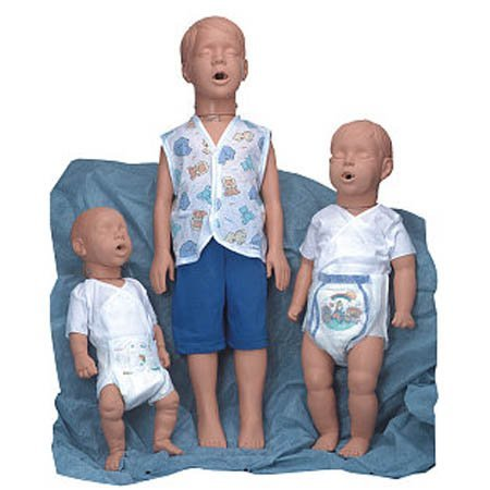 Simulaids Pediatric Manikins Kim/kevin Airway System