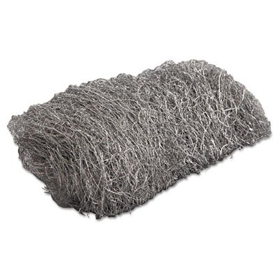 GMA 117006 Industrial-Quality Steel Wool Hand Pad, 3 Medium, 16/Pack, 192/Carton by GMA