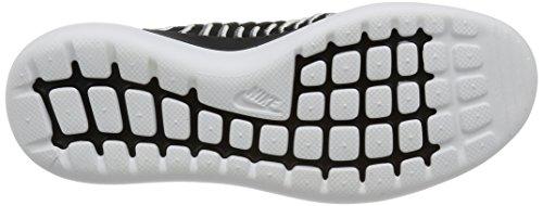 Nike Dames Roshe Two Flyknit Zwart / Zwart / Wit / Cool Grijs
