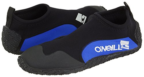 O'Neill Reactor 2 2mm Reef Booties, Black/Pacific, - 2mm Water Warm Gloves