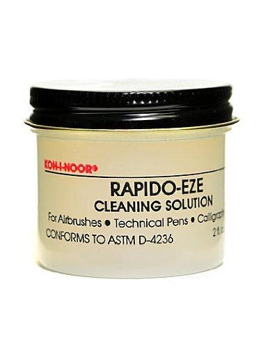 Koh-I-Noor Rapido-Eze Pen Cleaner 2 oz. jar [PACK OF 6 ]