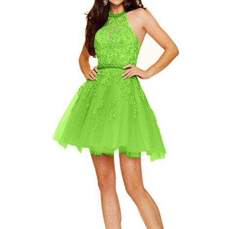 Tanzenkleider mia Apfel La Braut Cocktailkleider Rosa Mini Herrlich Promkleider Abendkleider Partykleider Kurz Spitze Gruen Zwg6qwv
