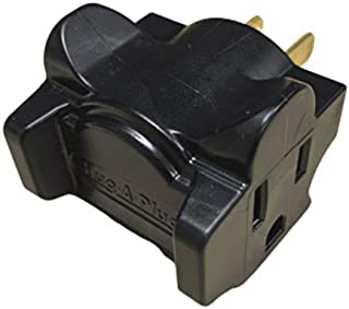 product image for Hug-A-Plug Dual OUtlet Wall Adapter, Single Black DG1.S.100.0-BN