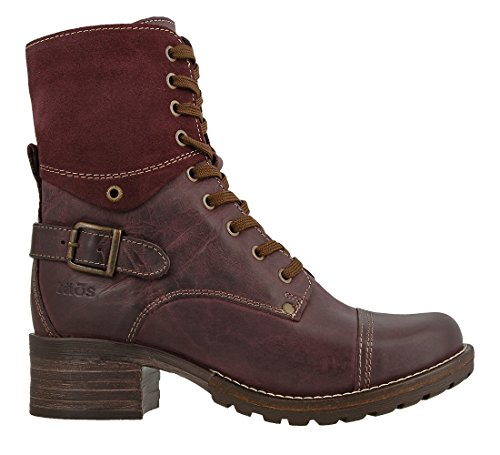Women's Taos Boot Suede Leather Bordeaux Crave dCZWnxC