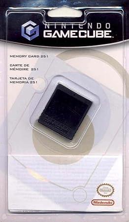 Nintendo Memory CARD 251 Blocks Black Memory card tarjeta de ...