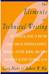 Elements of Technical Writing Paperback