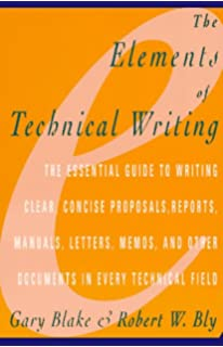 Technical writing concepts