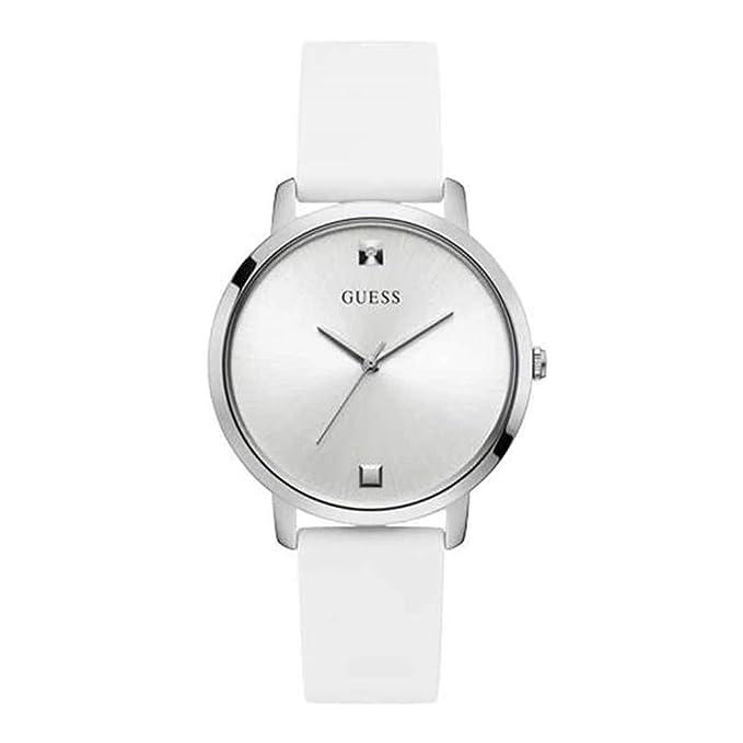 Reloj Guess Nova Blanco Plata W1210L1