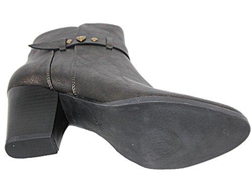 Foster Footwear Botines Chelsea mujer dorado