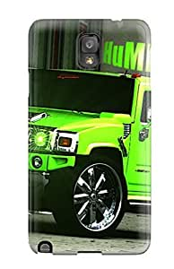Durable Case For The Galaxy Note 3- Eco-friendly Retail Packaging(hummer Car ) by icecream design