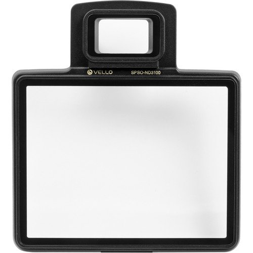Vello Snap-On LCD Screen Protector for Nikon D3100(6 Pack) by Vello