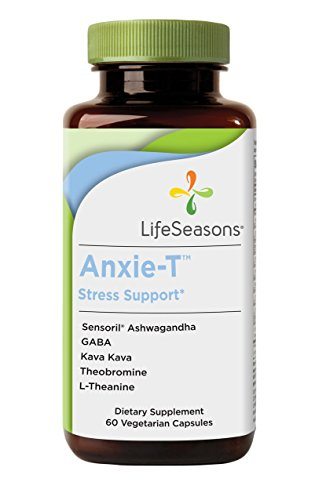 LifeSeasons Anxie-T Stress Support – Natural Stress Supplement (60 Capsules)