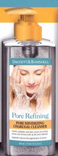 Daggett and Ramsdell Pore Refining Pore Minimizing Charcoal Cleanser 6 ounce (Pack of 2) (Best Cleanser For Pore Minimizing)