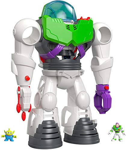 Imaginext Buzz Lightyear Robot is a top toy for preschool-aged boys and girls