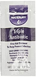 Waterjel 2120 Bacitracin Zinc Triple Antibiotic Ointment, 0.5gm Packet (Pack of 144)