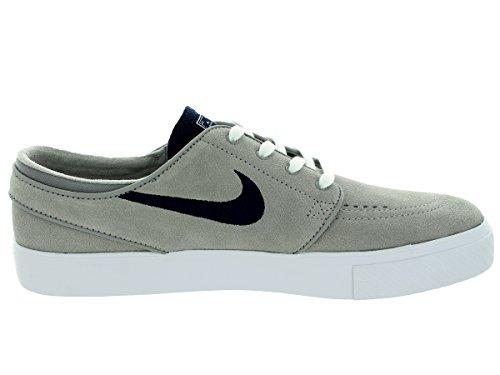 Nike Menns Zoom Stefan Janoski Medium Grå / Obsidian / Hvit Skatesko 8 Menn Oss