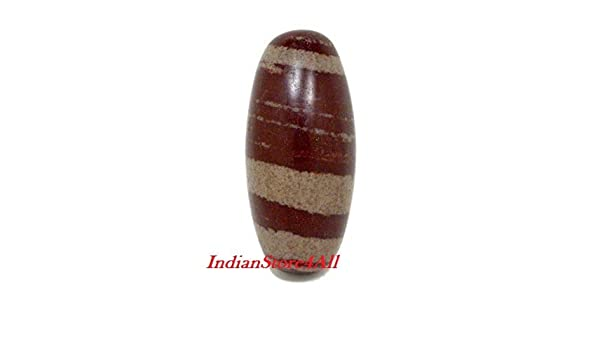 Siddhratan Large Narada River Shiva Lingam Stone Approx 3 In