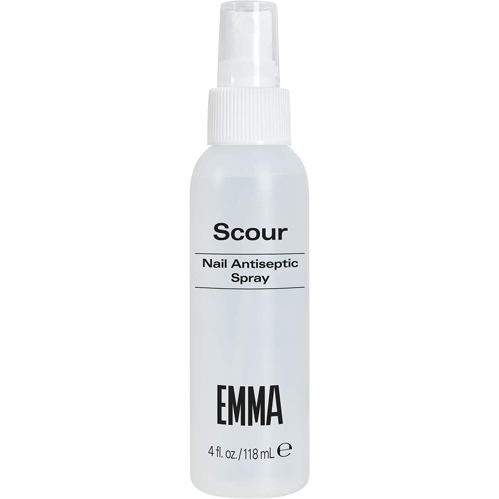 EMMA V.S.N.P. EMMA Scour Nail Antiseptic Spray & Nail Cleanser, 4 Ounces by EMMA BEAUTY