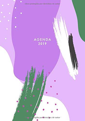 Agenda 2019: A5, Semana Vista, Organizador, 12 Meses ...