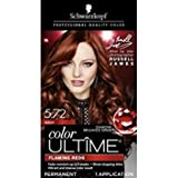 Schwarzkopf Color Ultime Permanent Hair Color Cream, 5.72 Auburn (Packaging May Vary)