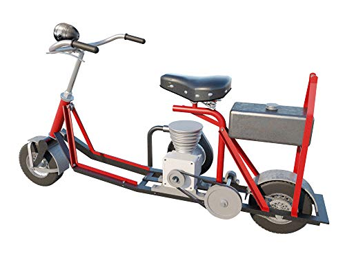 Scooter Mini Bike Plans DIY Metal Frame Minibike Outdoor Sports Build Your Own