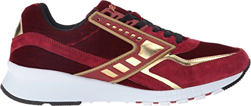 Brooks Heritage Mens Regent Red Dahlia / Gold Chrome Sneaker 9 D (m)