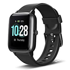 This smart watch requires iOS 8. 0/Andriod OS 4. 4 or higher and Bluetooth 4. 0 or later. Specifications: Model: ID205L Bluetooth Transmission Distance: 10 Meters (33 feet) Screen Size: 1. 3 inch Screen Type: TFT LCD color screen Strap Materi...