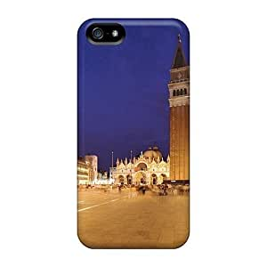 Anti-scratch And Shatterproof Veneziapiazza S Marco Phone Case For Iphone 5/5s/ High Quality Tpu Case