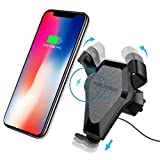 7e89508fddc Choosebuy Qi - Soporte de coche inalámbrico magnético de carga rápida para  Apple iPhone 8/