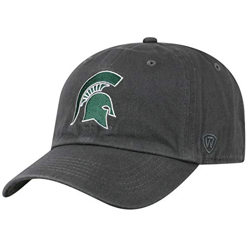 (Top of the World NCAA Michigan State Spartans Men's Adjustable Relaxed Fit Icon Hat,)