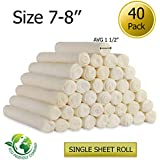 Golden Chews Retriever roll 7-8 Extra Thick by Great Value Treat (40 Pack)