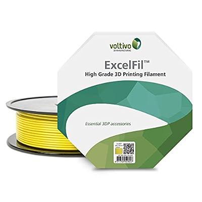 Voltivo ExcelFil ABS Deep Purple 2.85mm 3D Printing Filament (1kg/2.2lbs spool)