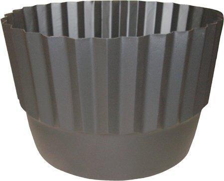 Henta Set of 2 Flex-O-Liner Whiskey Barrel Planter Liner Black, PE Plastic, 26 D x 14.5 H
