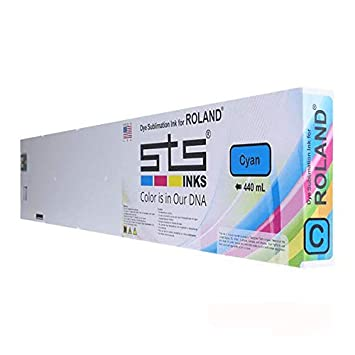Amazon com: Dye Sublimation Ink Cartridge for Roland with