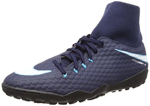 Rouge Noir 3 Bleu Hypervenomx Chaussures de Obsidienne Homme TF NIKE DF Gamma Football Glacier Bleu Bleu Blanc 414 Phelon Bleu 6zwqxvEF