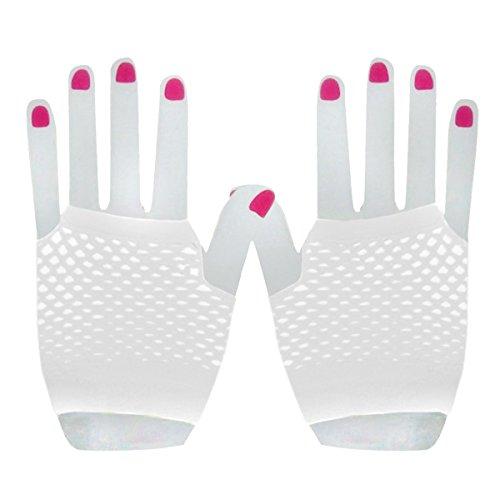 Fishnet Gloves Costume Accessories Fingerless