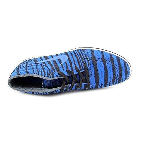 NIKE Mens Stefan Janoski Mid PRM Sneakers Military Blue Black White White 401 vpuCBstkb
