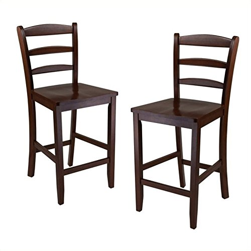 Ladder Back Chair Set - 3