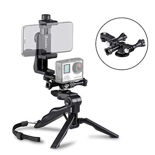Zeadio Ergonomic Handheld Grip Stabilizer Tripod Selfie Stick Handle Steadycam Kits
