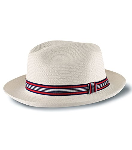 Tilley Endurables Toyo Fedora - White - M by Tilley