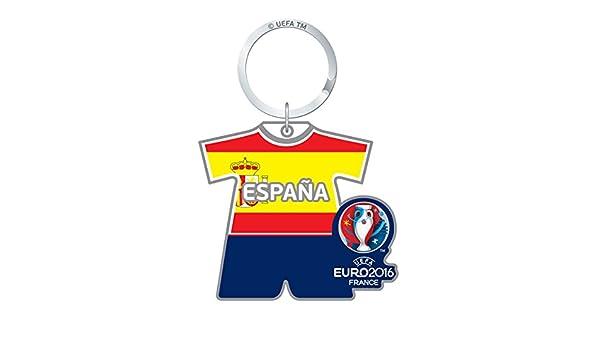 UEFA Euro 2016 Oficial Equipo De País Llavero - España FC, Llavero: Amazon.es: Deportes y aire libre