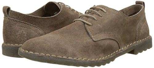 Zapatos Beige de Fly P801453001 Taupe Mujer 006 Cordones London xHHE6