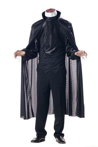 California Costumes Men's Headless Horseman Costume, Black, (Sleepy Hollow Headless Horseman Costume)