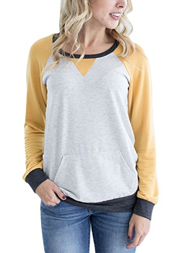 Yellow Crew Sweatshirt - 3